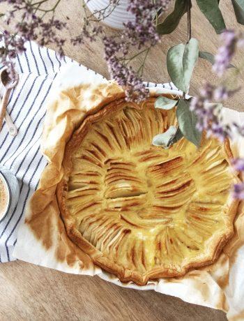tarte-pommes-cappucino-fleurs